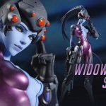 No one can hide from this $150 'Overwatch' Widowmaker statue