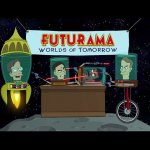 Science celebrities fight over who is more popular in hilarious 'Futurama' short