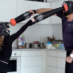 Become the master of the ring with this extendable boxing glove