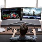 Un monstruo de 49 pulgadas, curvo y con HDR: así es lo nuevo de Samsung en monitores 'gaming' con QLED