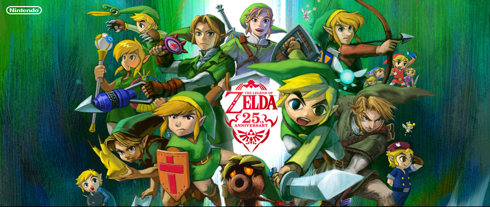 Thankfully, we're missing the Link from the Zelda cartoon.