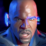 Absorb the thunderous acting of Terry Crews in 'Crackdown 3' like his muscles would absorb you