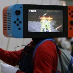 This working Nintendo Switch helmet raises the bar for cosplayers everywhere