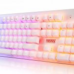 If Rainbow Brite had a job, this would definitely be her keyboard