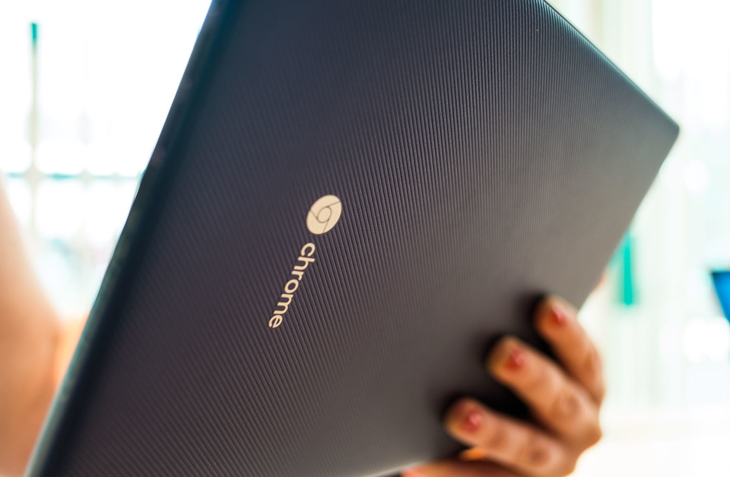 Chromebook Tab 10 Trasera