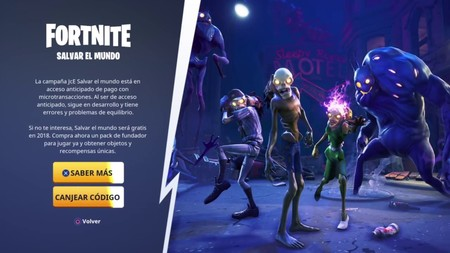 Fortnite Salvar Mundo