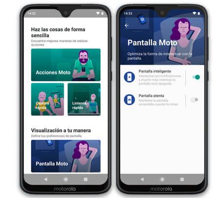 Moto G7 Plus Apps Propias
